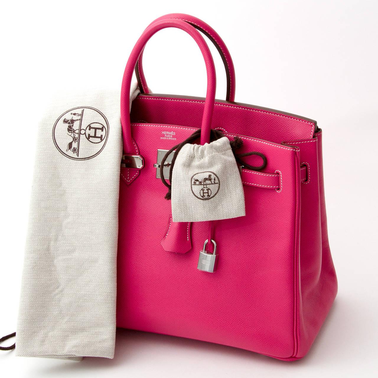 3e599d9bcd3c Women s Hermès Birkin 35 cm Candy Veau Epsom Rose Tyrien + receipt For Sale