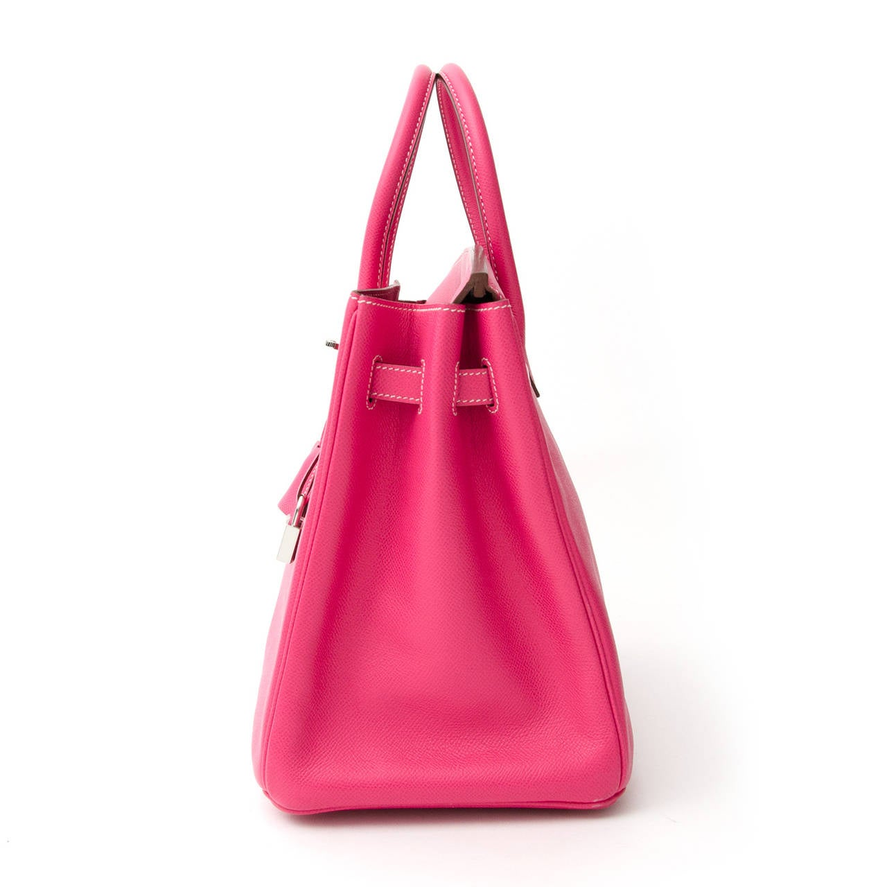 1a0b85648b16 ... Veau Epsom Rose Tyrien + receipt For Sale. From the Hermès CANDY  COLLECTION   this Birkin bag measures 35 cm. It is made