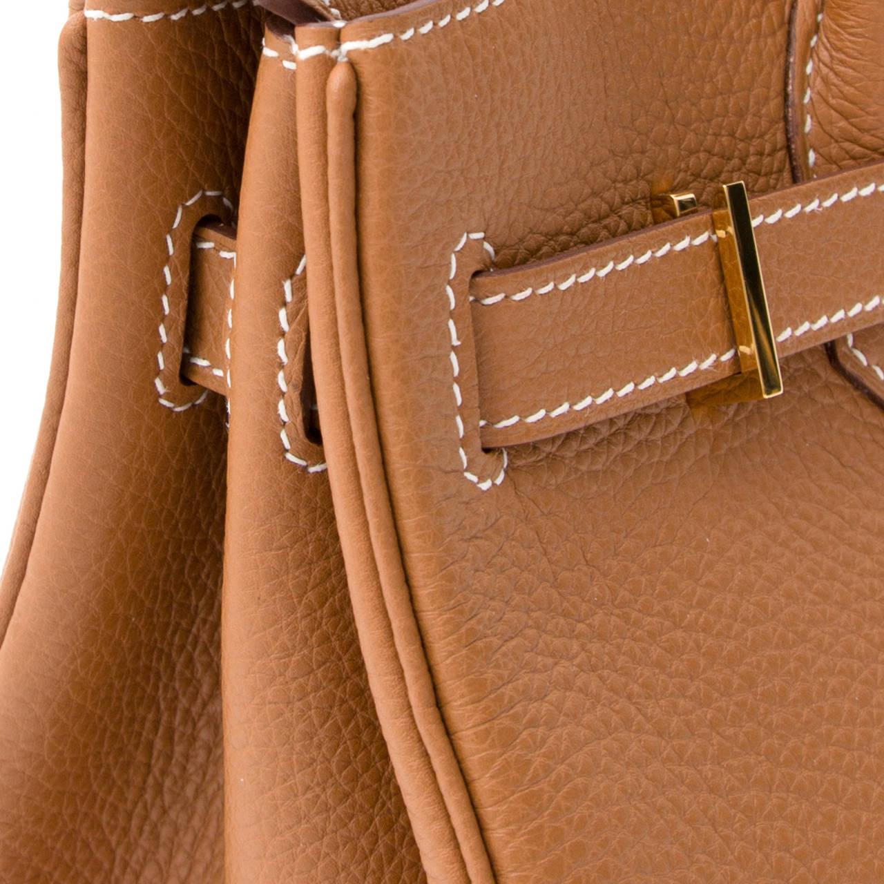 Hermès Birkin Gold Togo 30 GHW 5