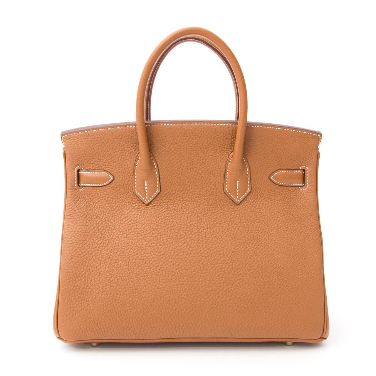 Hermès Birkin Gold Togo 30 GHW 3
