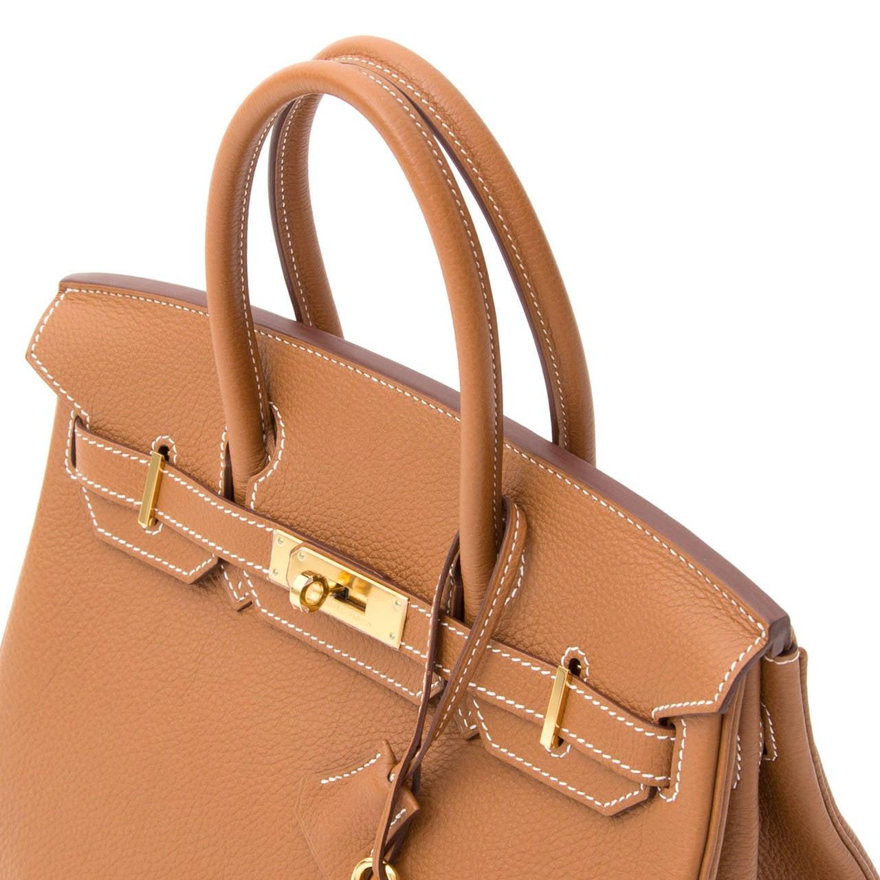 Hermès Birkin Gold Togo 30 GHW 7