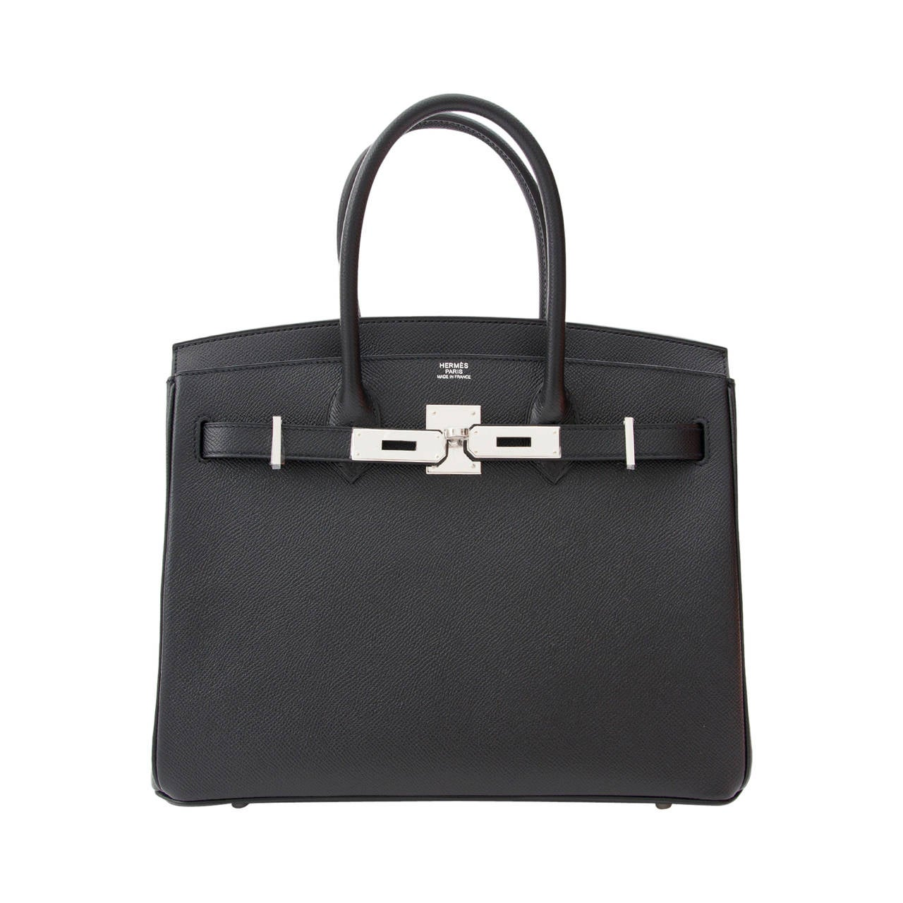 557c1d64c94 Authentic NEW Hermès Birkin Black epsom PHW 30 at 1stdibs