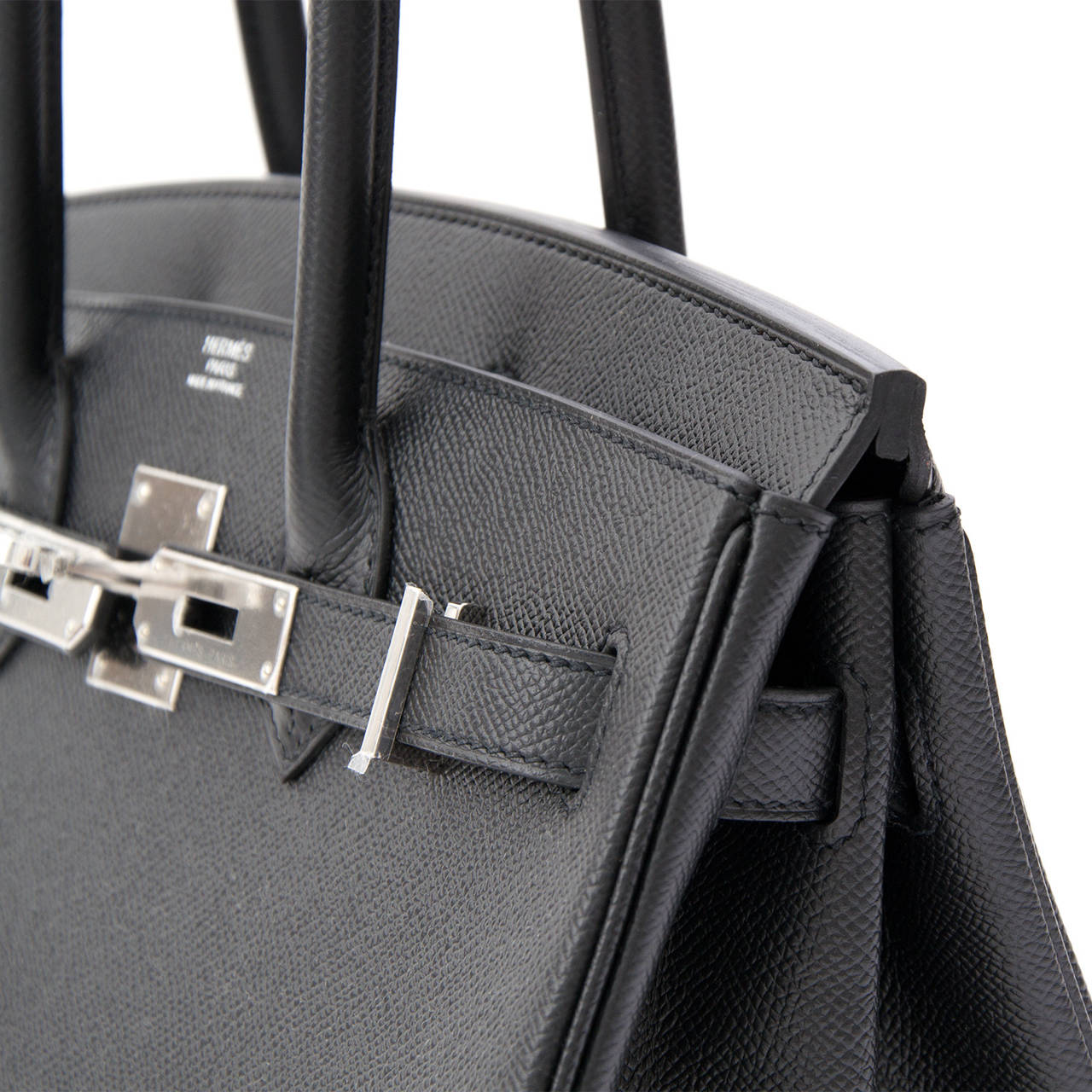 2c5535b876d Authentic NEW Hermès Birkin Black epsom PHW 30 at 1stdibs