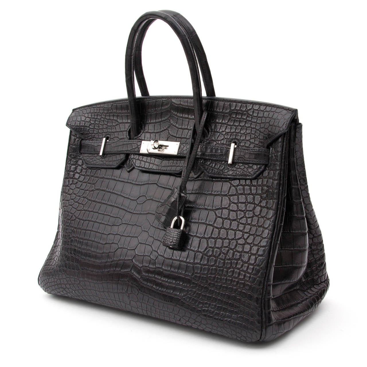b3b0f881dc6 ... coupon for hermes matte black porosus crocodile birkin 35 for sale 1  add55 50bdb