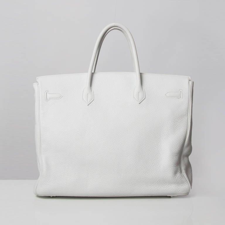 birkin bag knockoff - Hermes Birkin White 40 at 1stdibs