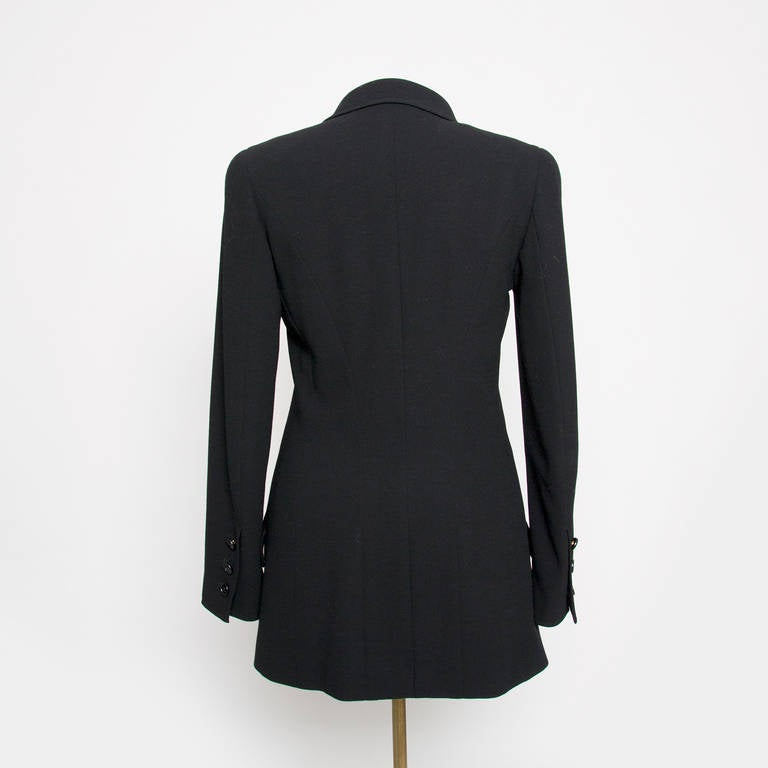 Chanel Black Blazer In Excellent Condition For Sale In Antwerp, BE