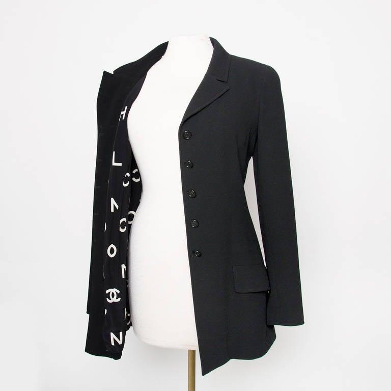 Chanel Black Blazer 4