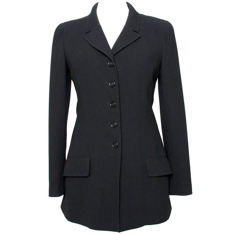 Chanel Black Blazer 1
