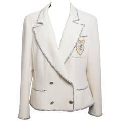 "Chanel White ""Devil wears Prada"" Jacket 2005"