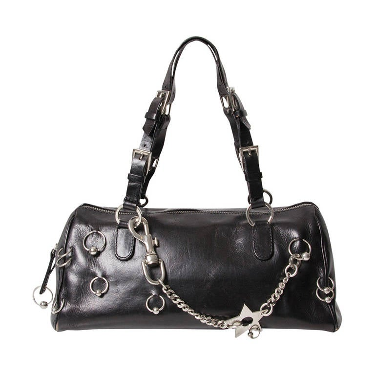 4e378048b281 Christian Dior  Hardcore  Pierced Boston Bag at 1stdibs