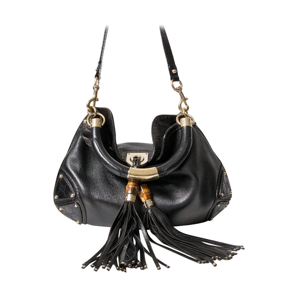 9ba32026f809 Gucci Black Purse With Tassels | Stanford Center for Opportunity ...