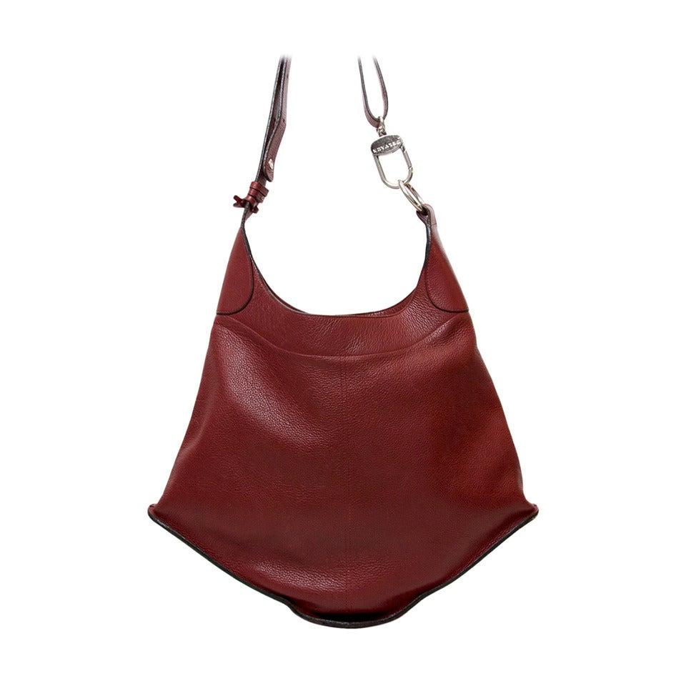 1stdibs 1970s Nurhan Blue Leather Shoulder Bag XJnDc