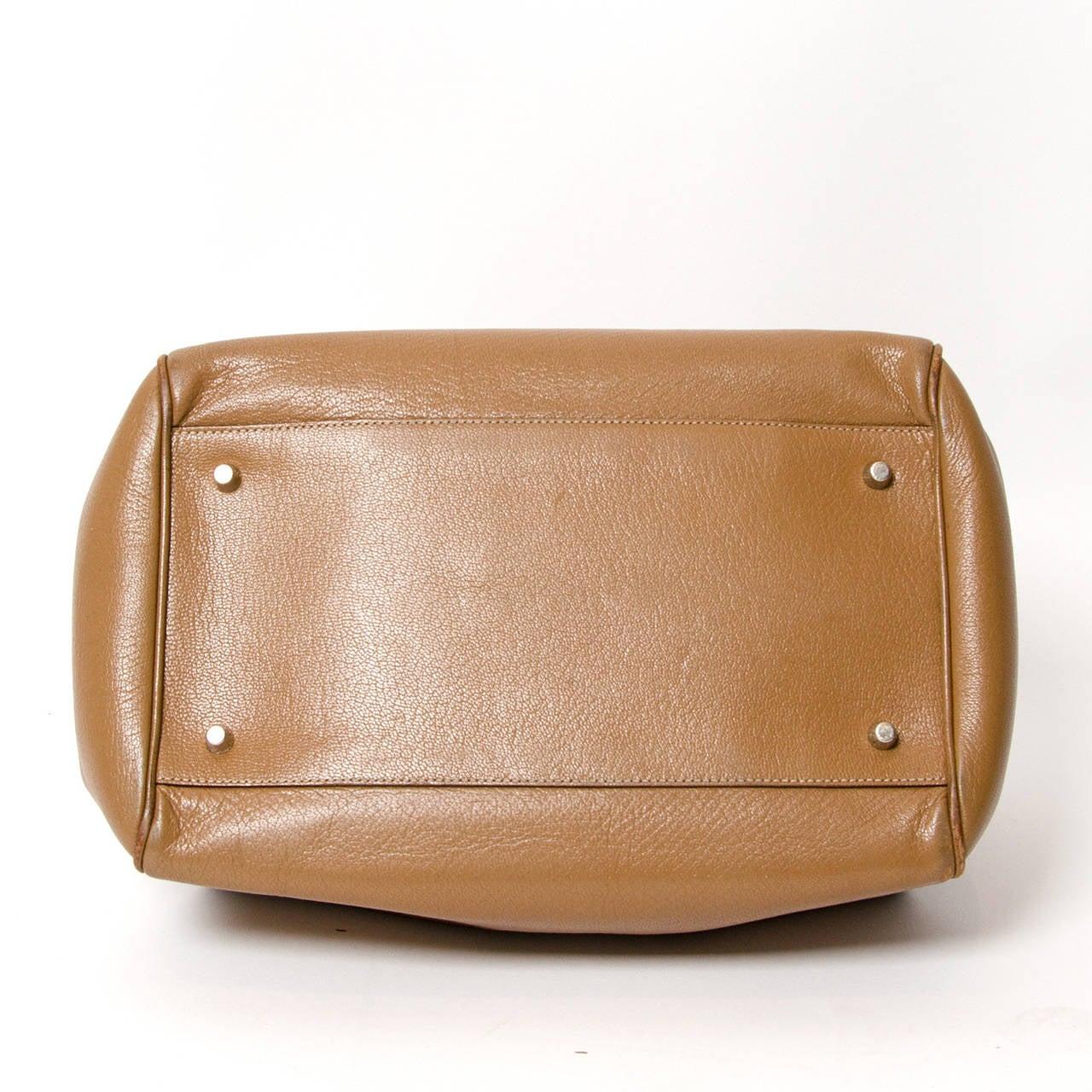 b6fa5f9f388747 Women's Prada Leather Madras Cerniera Doctor Bag For Sale