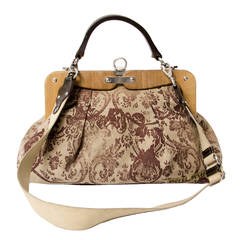 Miu Miu Floral Top Handle Bag