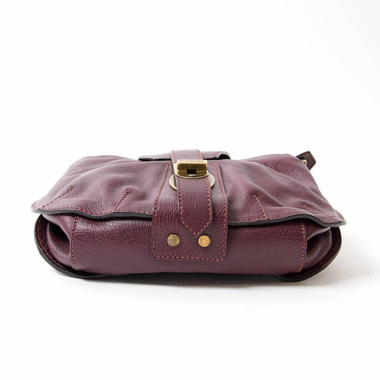 Burberry Bag Purple