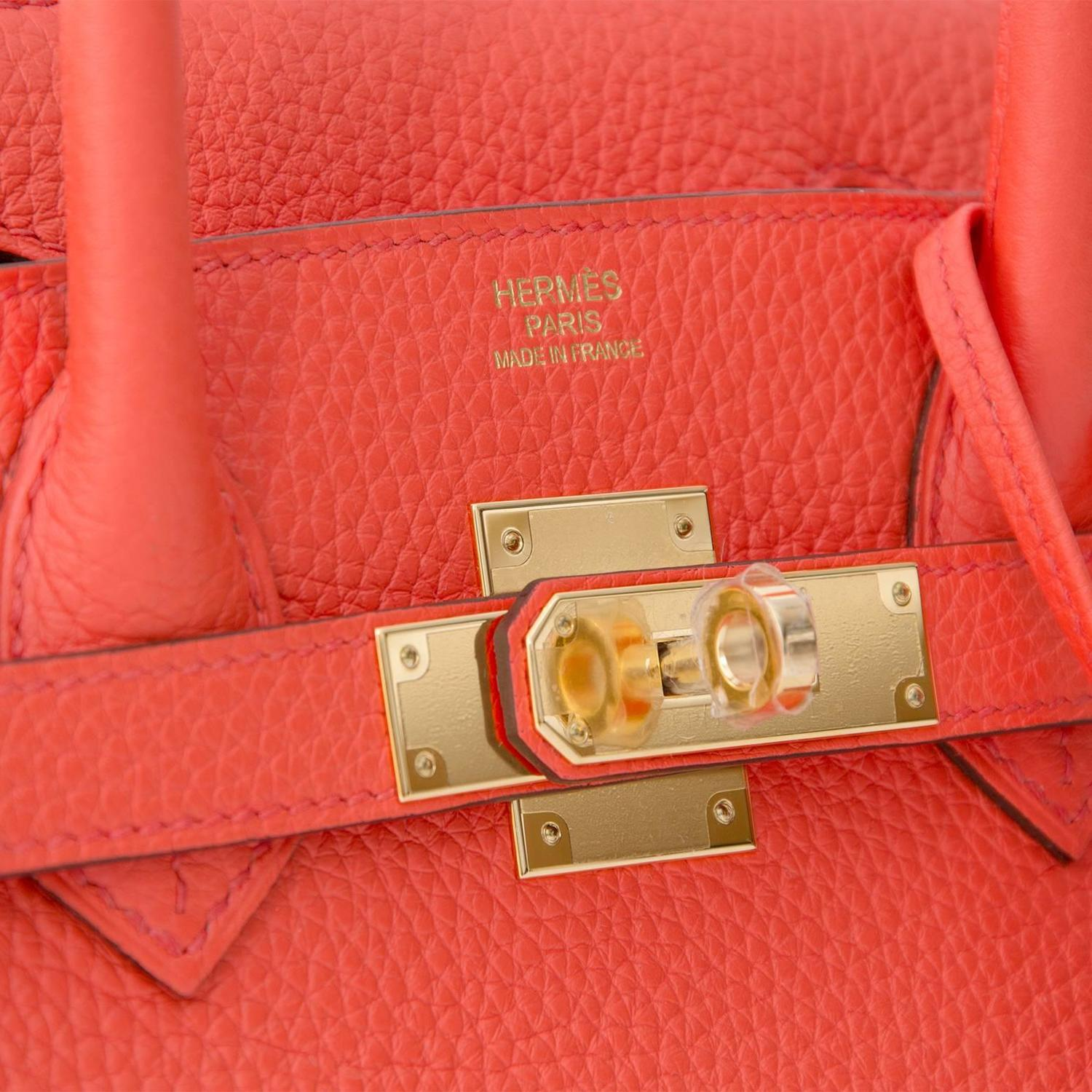 Brand New Hermes Birkin 30 Orange Poppy For Sale at 1stdibs