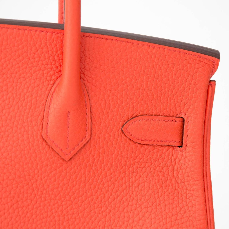 best hermes birkin color - Brand New Hermes Birkin 30 Orange Poppy For Sale at 1stdibs