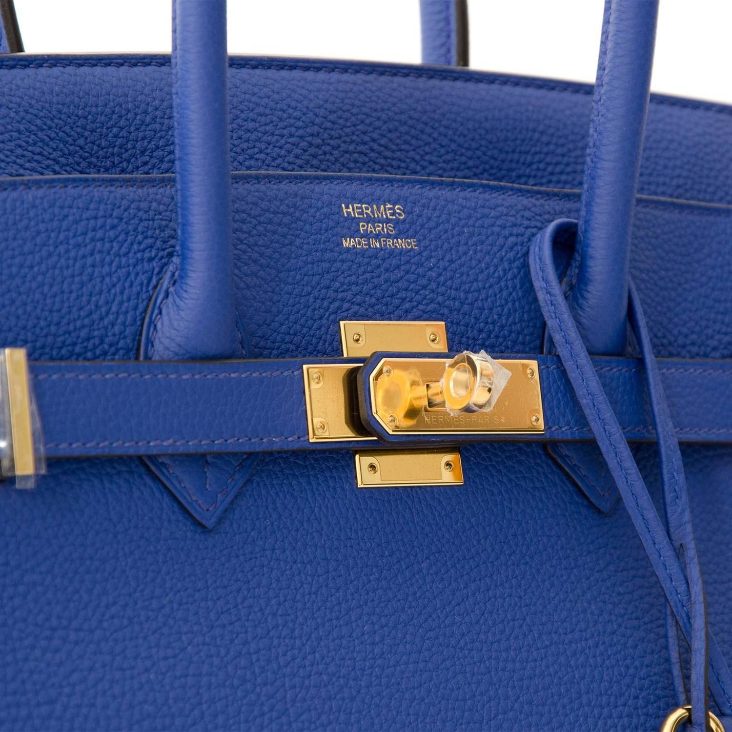 ... low price brand new hermès birkin 35 blue electrique togo ghw at  1stdibs 149e3 80d7c ... b155d14150