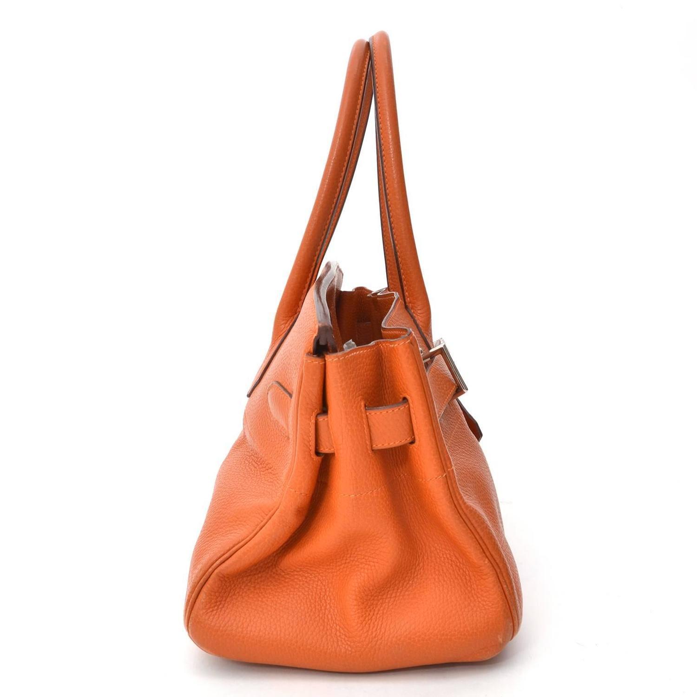 pink brighton purse - Herm��s Birkin Shoulder Bag PHW Pumpkin Orange For Sale at 1stdibs
