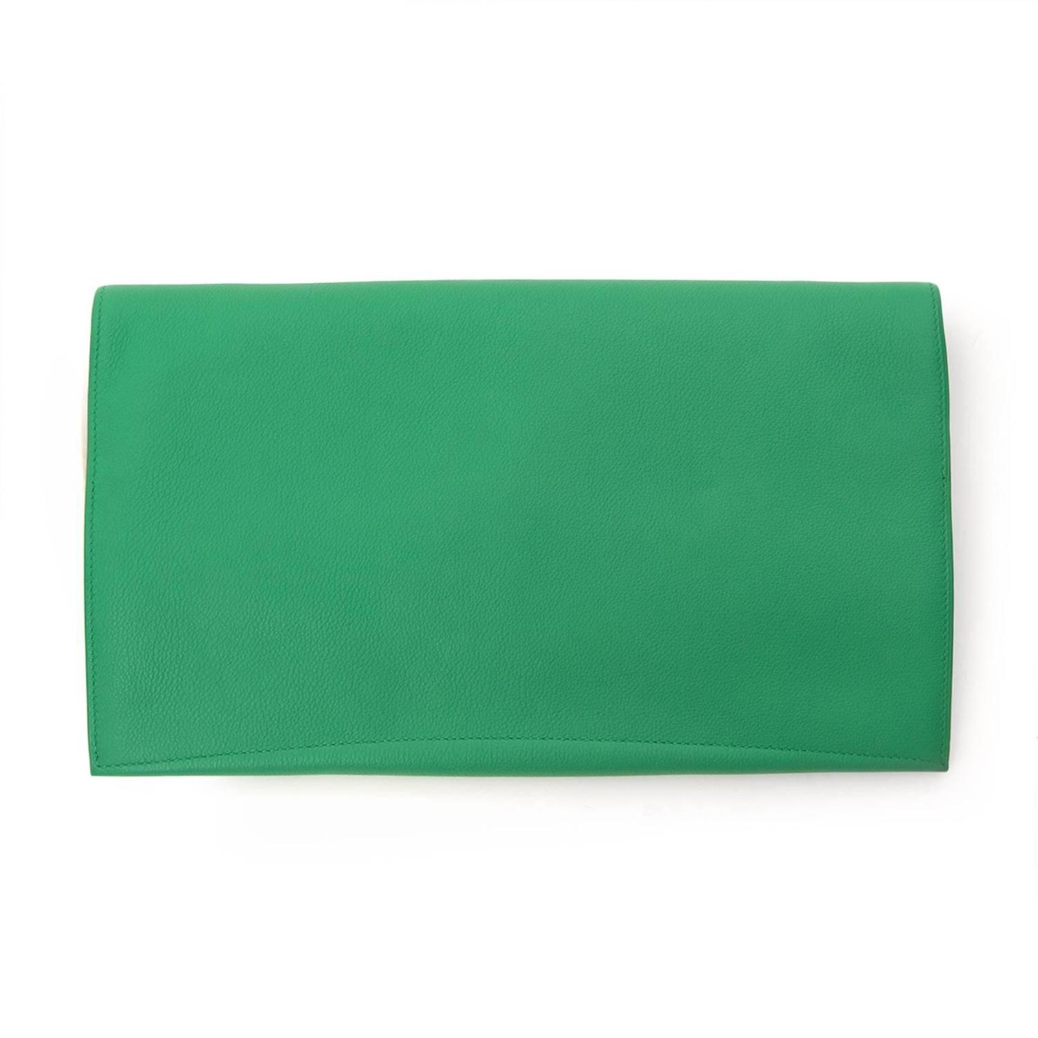 fake hermes bag - Hermes PliPlat Clutch bambou For Sale at 1stdibs