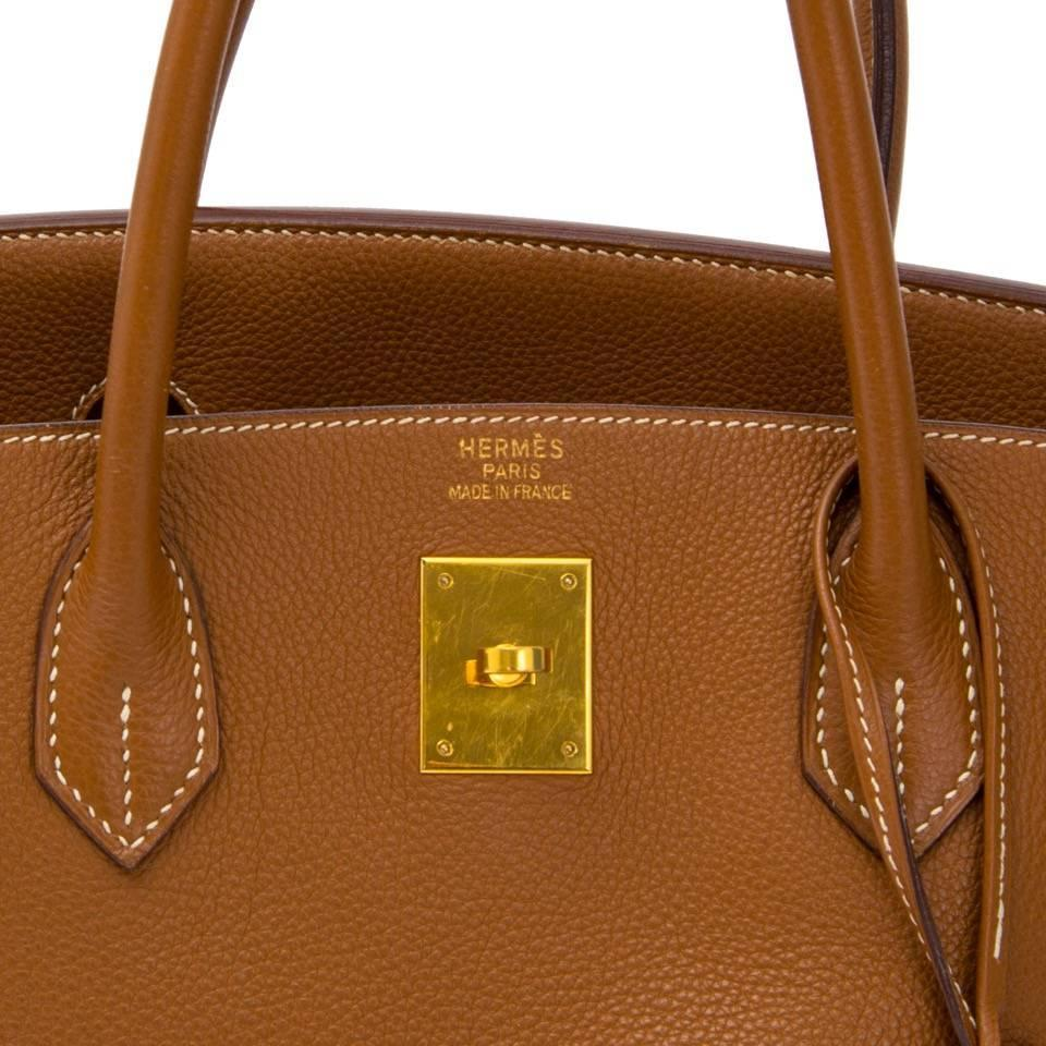 ostrich birkin bag - Hermes Birkin 40 Togo Gold GHW For Sale at 1stdibs