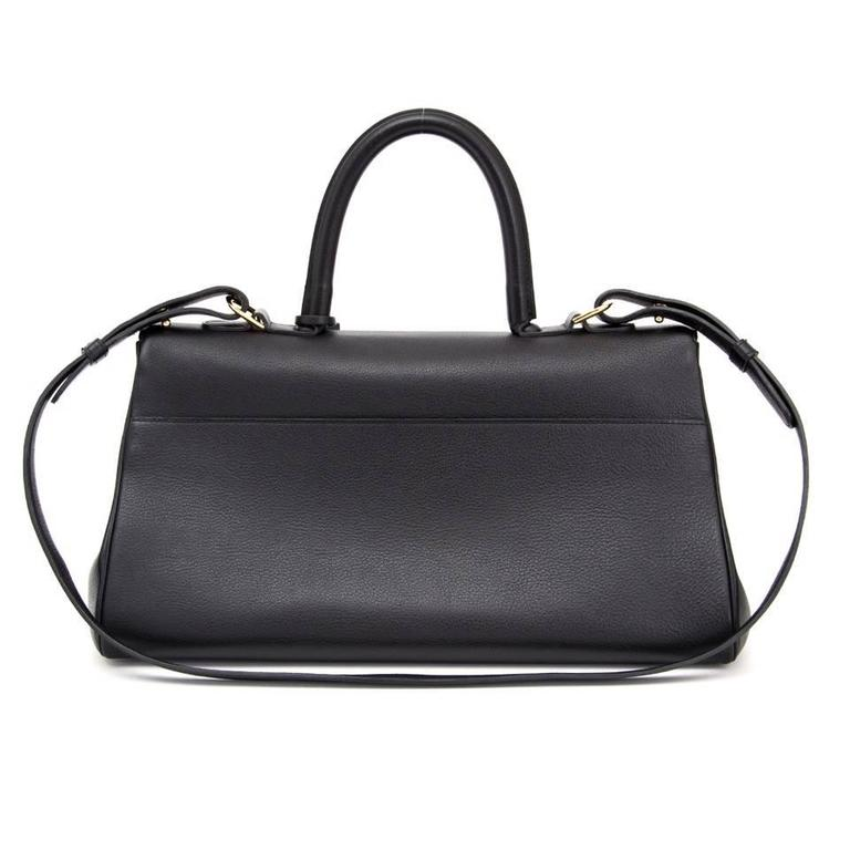 Delvaux Black Brillant East West  2
