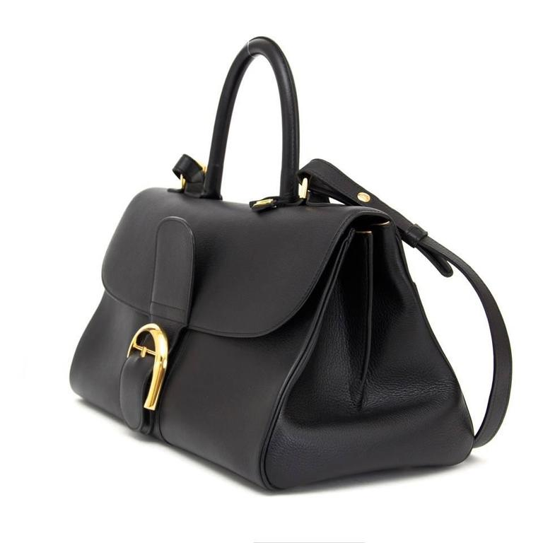 Delvaux Black Brillant East West  3