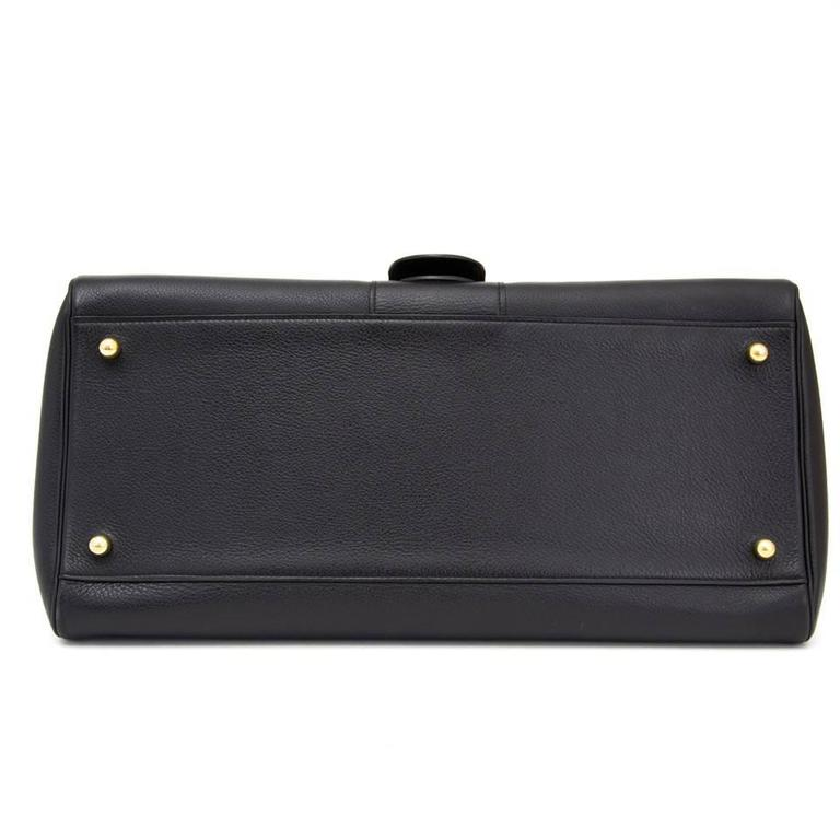 Delvaux Black Brillant East West  4