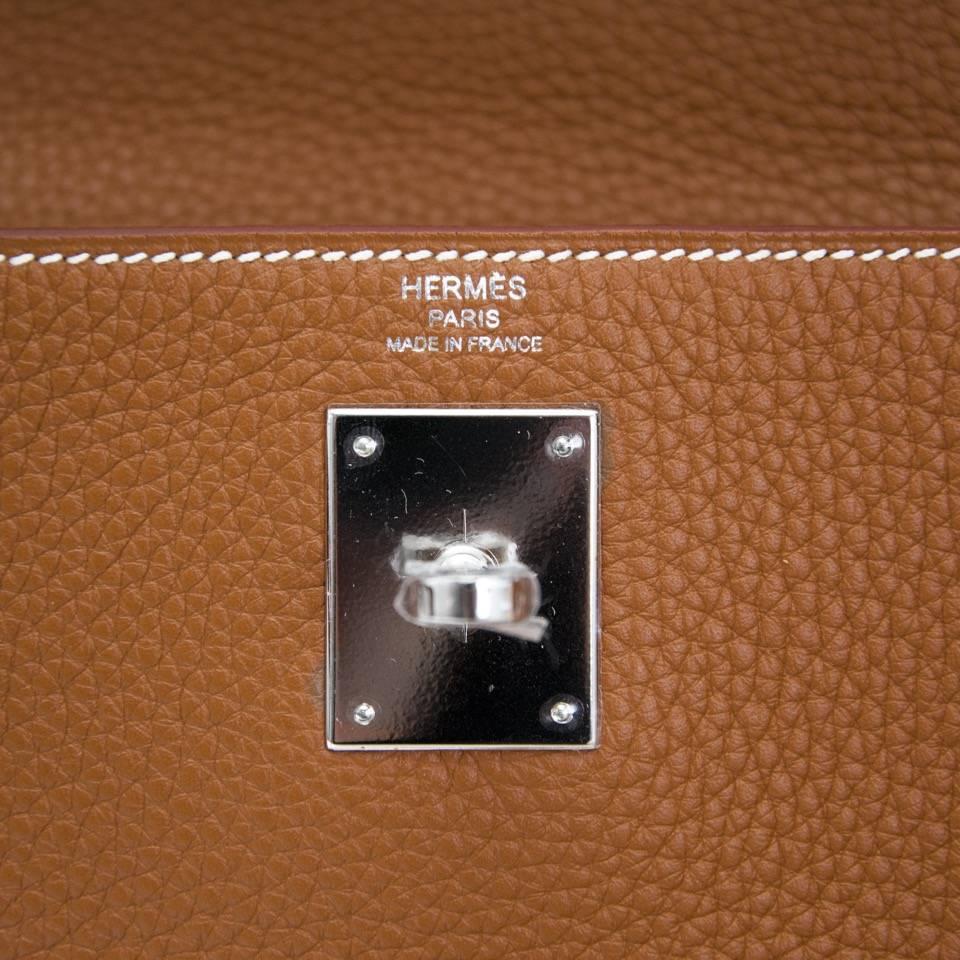 purses hermes - Brand New Hermes Kelly Gold Retourne 28 Clemence Taurillon at 1stdibs
