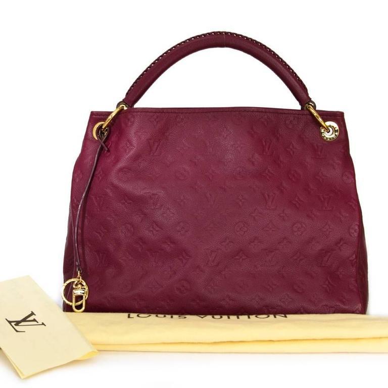 Women's Louis Vuitton Artsy MM Aurore Empreinte