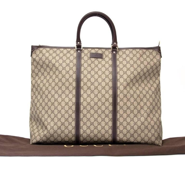 Brand New Gucci Xl Monogram Weekender Tote The Perfect Travel Companion For All Your Weekend