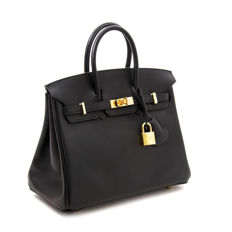 a7b0399cf9f4 ... palladium hardware. this authentic hermes handbag in veau ded16 f0a56   czech womens brand new hermes birkin 25 black swift ghw for sale c4575 457af
