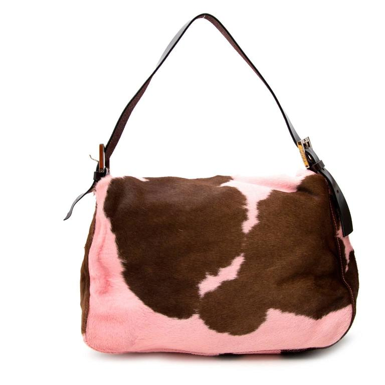 Fendi Medium Pony Hair Baguette  3
