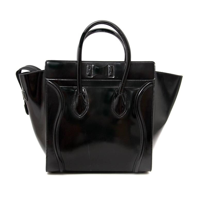 Céline Patent Leather Luggage 2