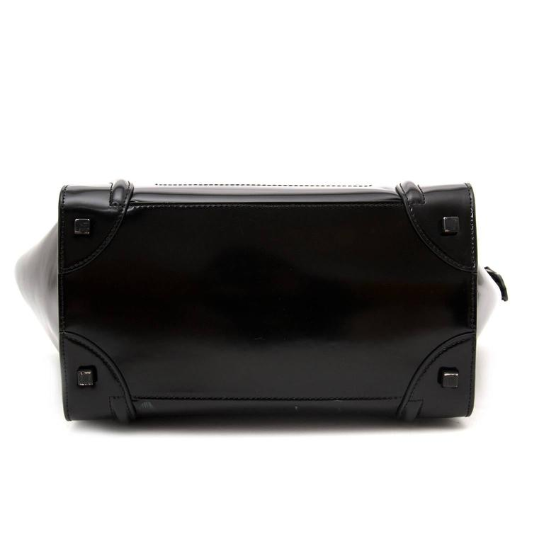 Céline Patent Leather Luggage 3