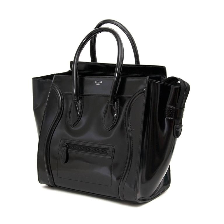 Céline Patent Leather Luggage 4