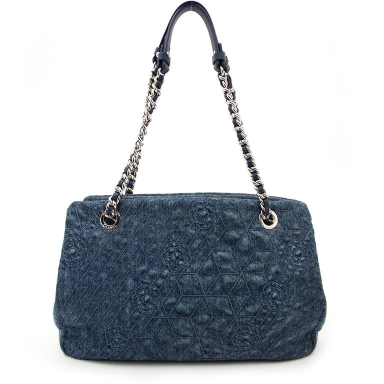 1da9b9777c2a Chanel Shopper Bag Denim | Stanford Center for Opportunity Policy in ...