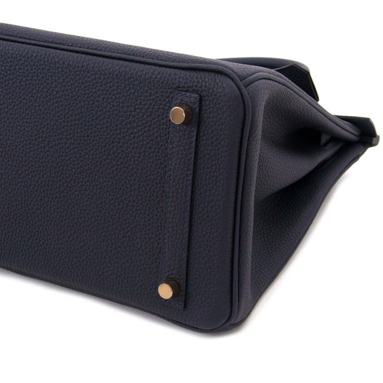 cac25561bc Never used! Hermès Birkin 35 Togo Black PHW This brand new Hermès Birkin bag  is