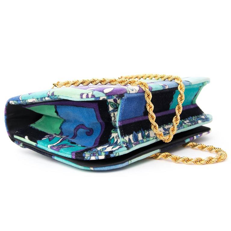 Emilio Pucci Velours Evening Bag 4