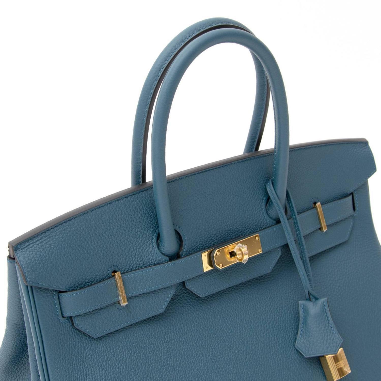 BRAND*NEW Hermes Birkin 35 Togo Colvert GHW For Sale at 1stdibs