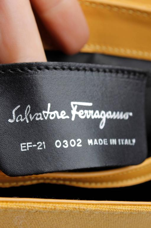 Salvatore Ferragamo Bag - yellow/flowers 5