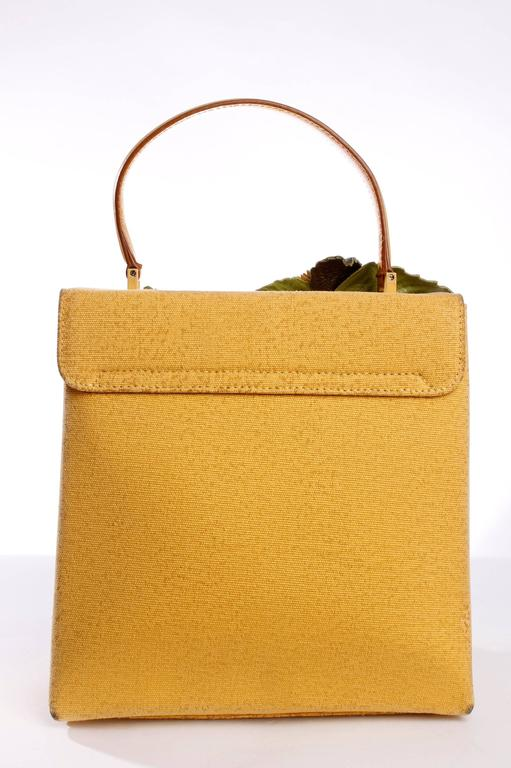 Salvatore Ferragamo Bag - yellow/flowers 8