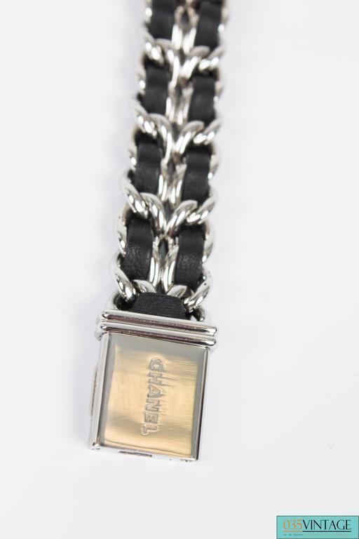 Chanel Premiere Watch Silver Quartz Swiss Made For Sale 1