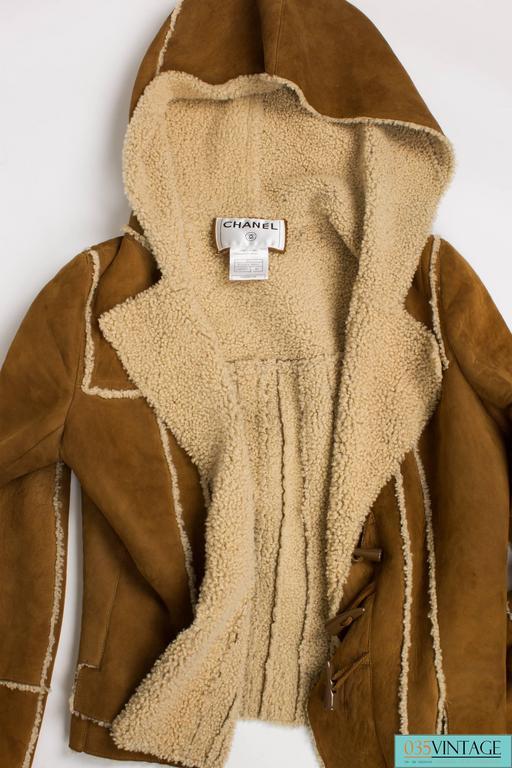 Chanel Lammy Coat - brown/gold 3