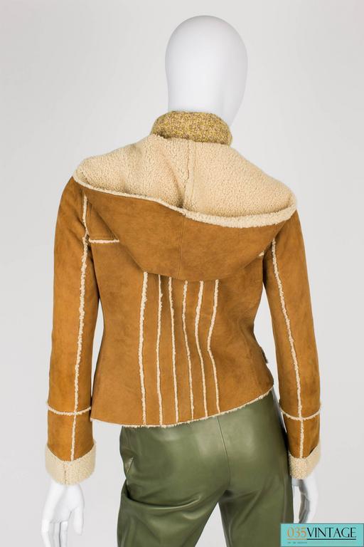 Chanel Lammy Coat - brown/gold 4