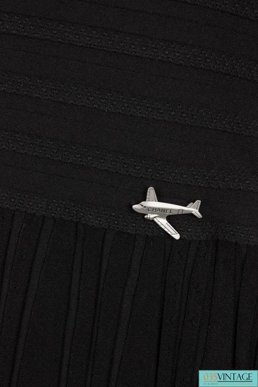 Chanel Strapless Top - black 6