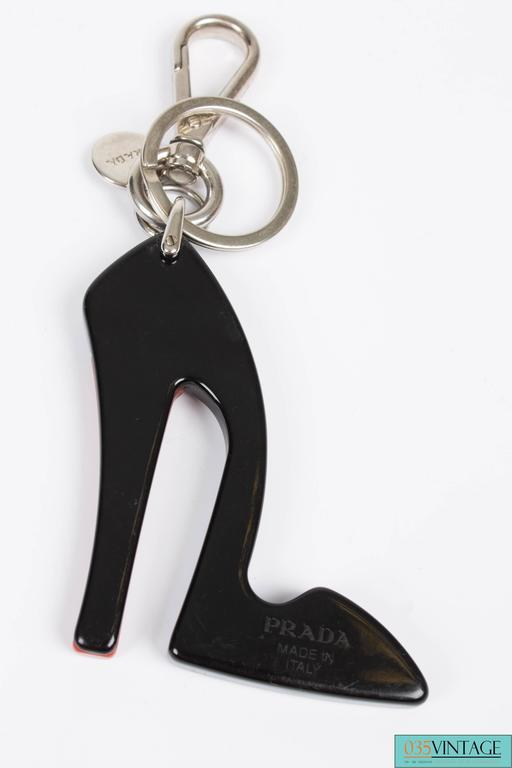Prada Key Chain - High Heel Shoe  2