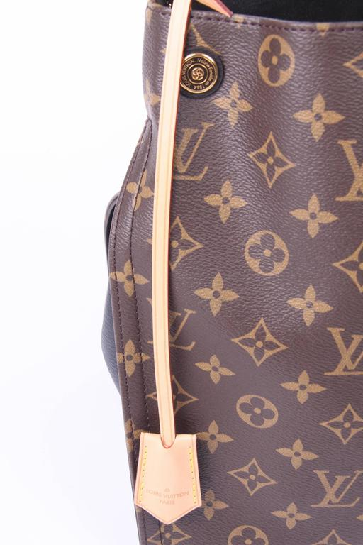 louis vuitton monogram gaia bag  black at 1stdibs