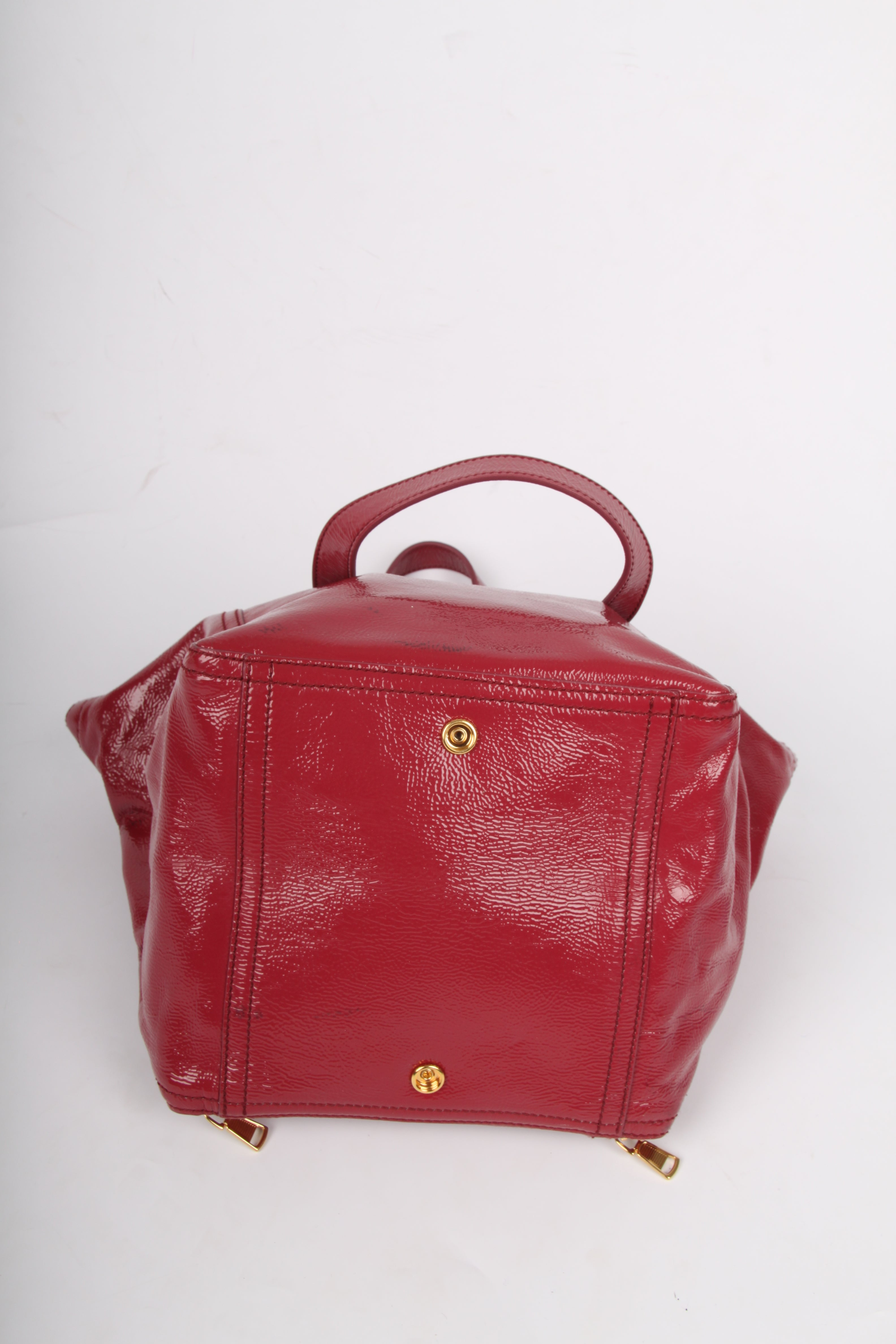 Yves Saint Laurent Downtown Bag Patent Leather - pink For Sale at 1stdibs c54f35ead8