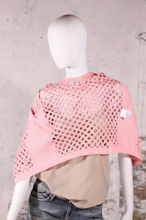 Chanel Sequin Cardigan - baby pink 7